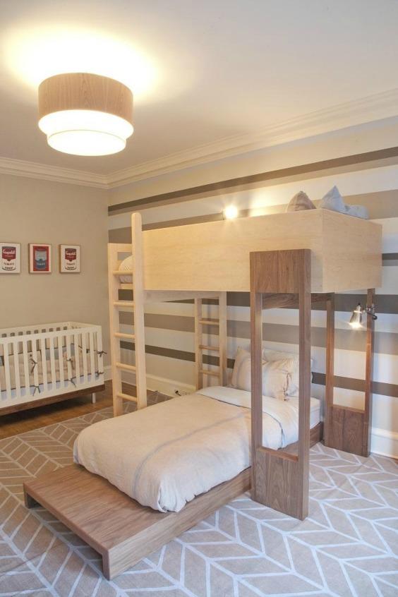 Habitaciones compartidas por beb y hermanos - Habitaciones bebe pequenas ...