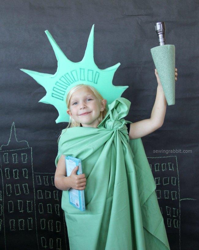disfraz casero estatua de la libertad disfraces para nios