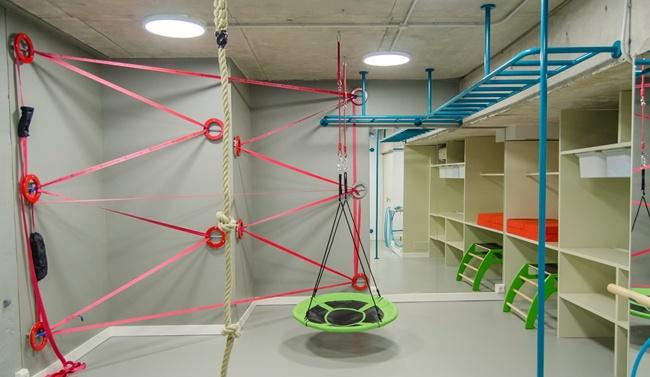 Un gimnasio para niños en casa. Decoración infantil, Decoideas.net