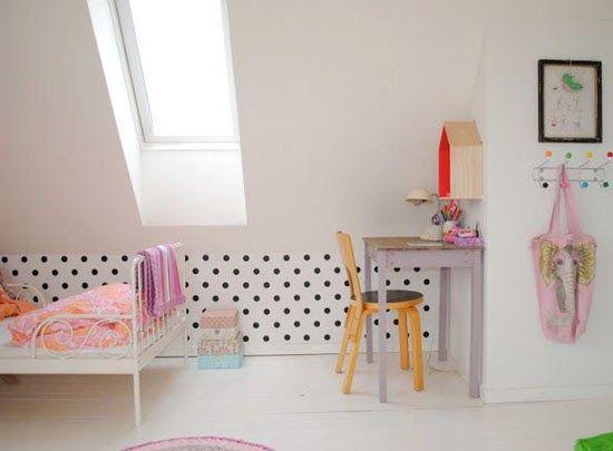 Fotos habitaciones infantiles con lunares