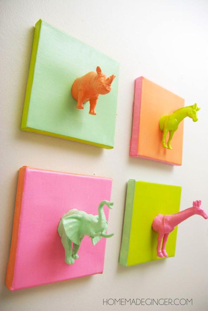 Cuadros infantiles cuadros para ni os y bebes - Como pintar un cuadro moderno ...