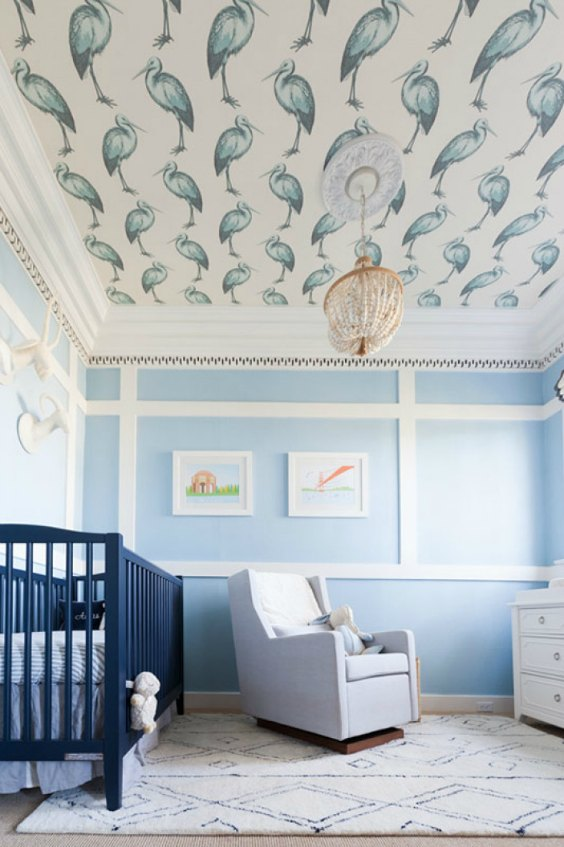 Habitaciones de color azul para bebes - Habitaciones de bebe ...