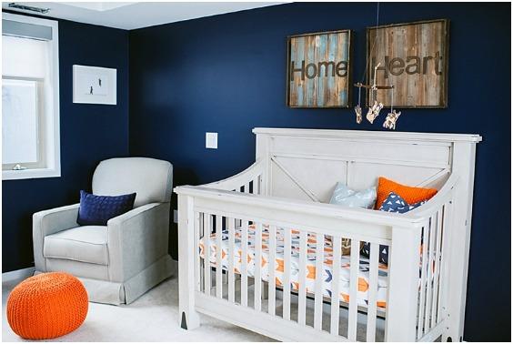 10 habitaciones de beb de color azul decoideas net - Habitaciones de bebe pequenas ...