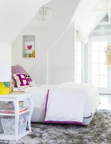9 dormitorios juveniles en blanco - Habitaciones blancas juveniles ...