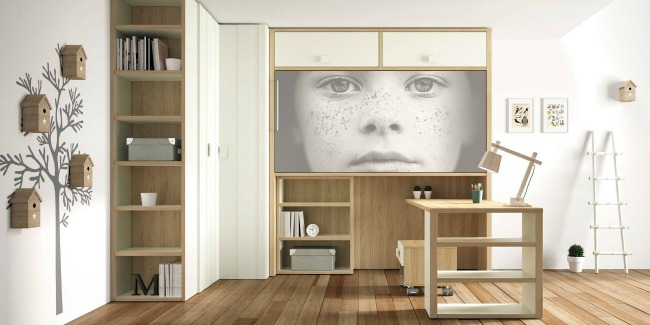 Muebles juveniles by lagrama decoideas net - Muebles literas abatibles ...