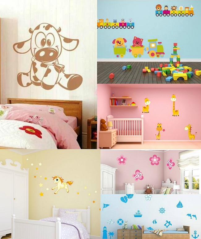 Decorar habitaciones infantiles con dekoshop for Pared habitacion infantil