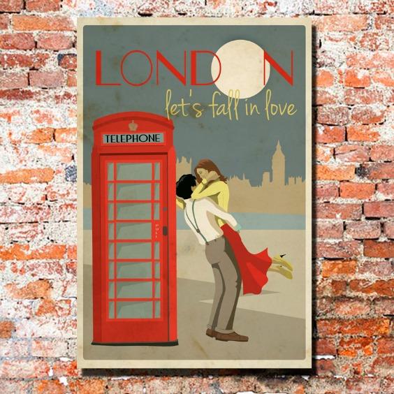 cuadro-vintage-london