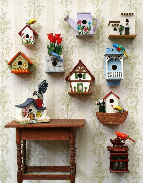 Decorar con casitas de pajaritos decoideas net ideas - Casita con tobogan para ninos ...