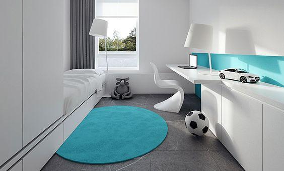 8 habitaciones peque as para jovenes for Habitaciones juveniles modernas
