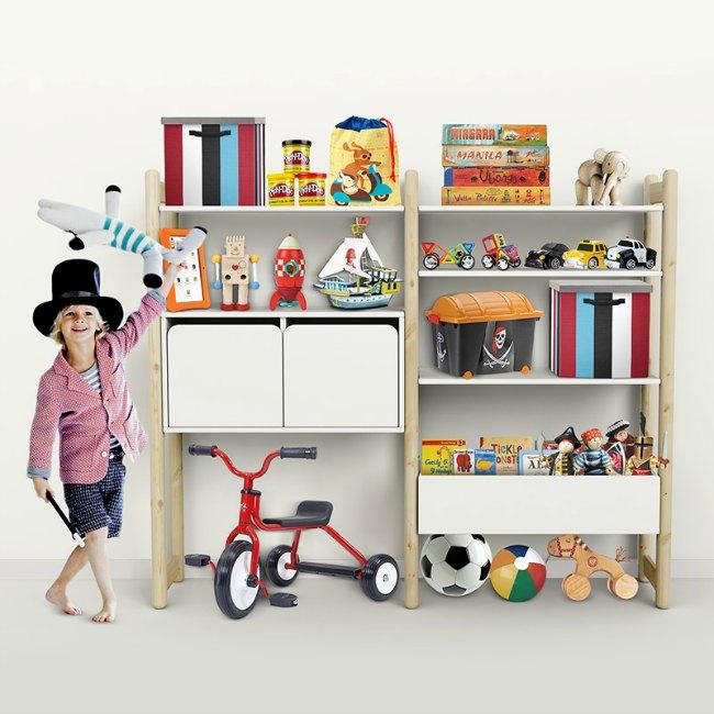 Organizar la habitación infantil con Flexa Shelfie