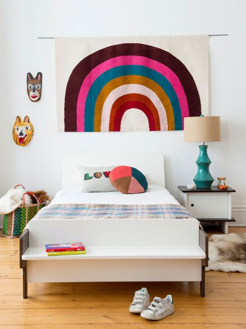 Decoración infantil: Tendencia Arcoiris