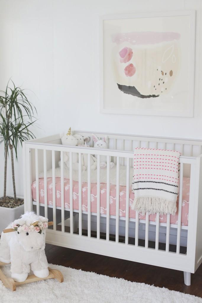 Tendencia decoraci n infantil unicornios decoideas net for Adornos para pieza de bebe