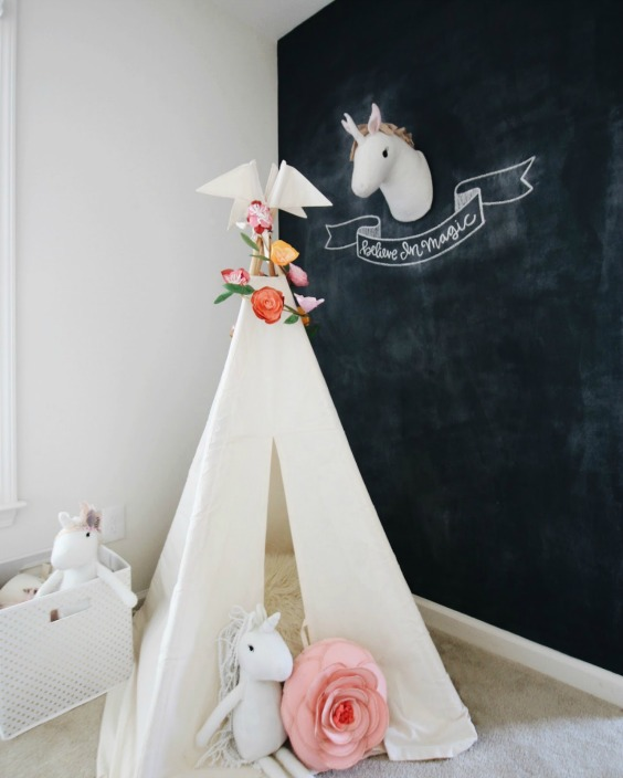 Tendencia decoracion unicornios for Decoracion para pared unicornio