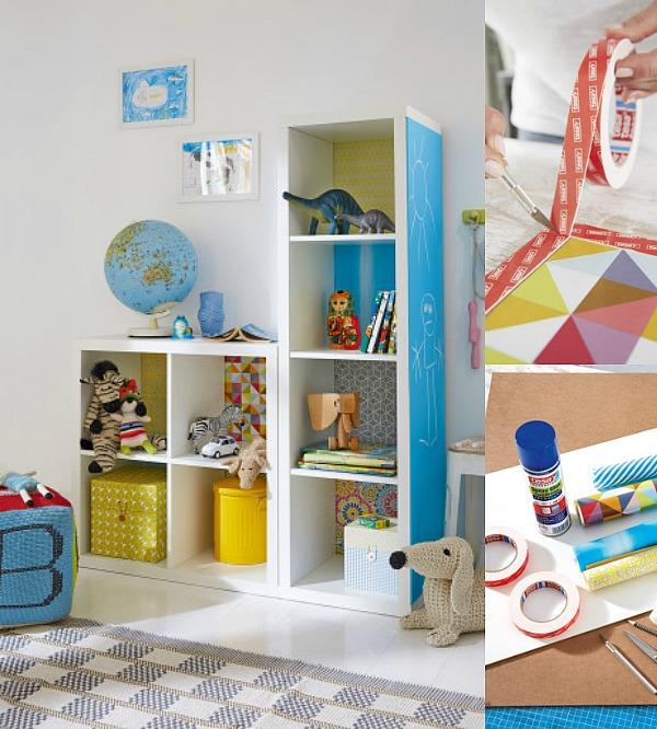 Personalizar la estantería infantil