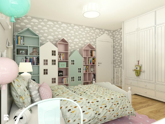 Habitación infantil estilo Escandinavo