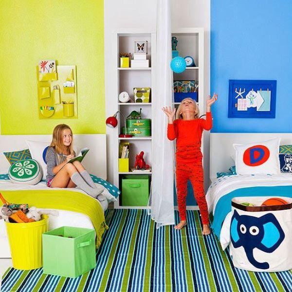 Pintar habitaciones infantiles compartidas decoideas net - Habitaciones infantiles compartidas ...