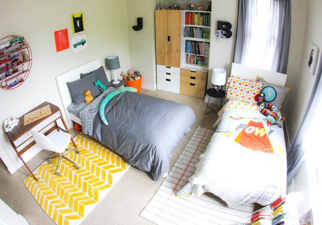 Pintar habitaciones infantiles compartidas decoideas net - Pintar habitaciones infantiles ...