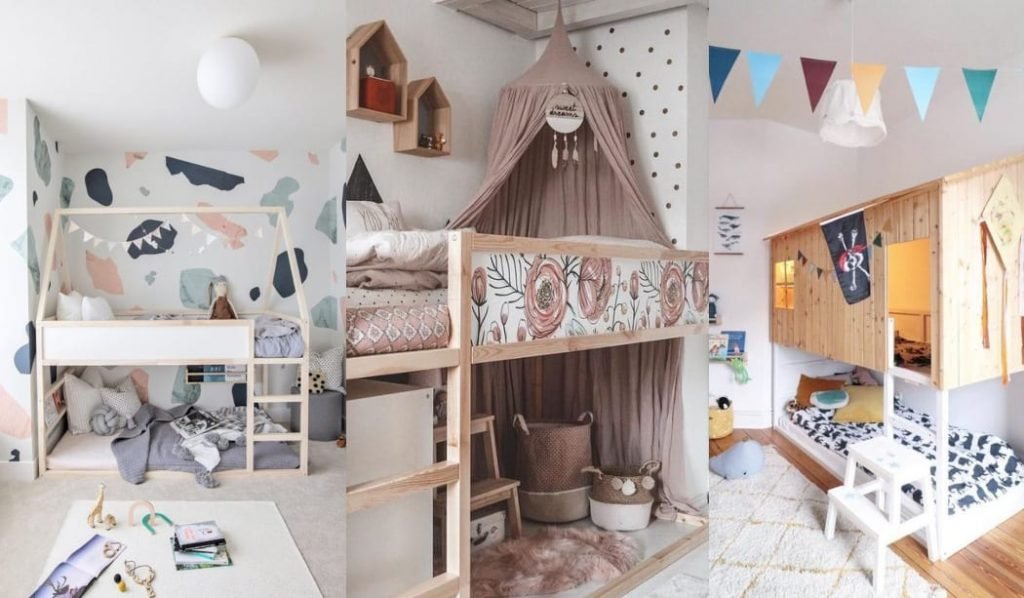 Cama Kura de Ikea, ideas, inspiración
