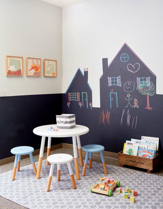 Ideas para pintar paredes infantiles decoideas net - Ideas para pintar una habitacion ...