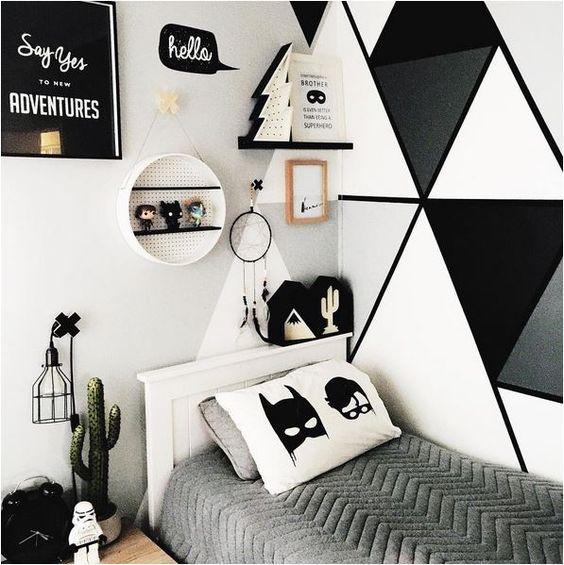 Ideas para pintar paredes infantiles decoideas net for Black and white kids room