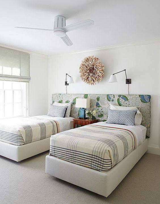Cabeceros originales para habitaciones compartidas