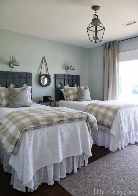 Cabeceros originales para habitaciones compartidas - Ideas cabeceros originales ...