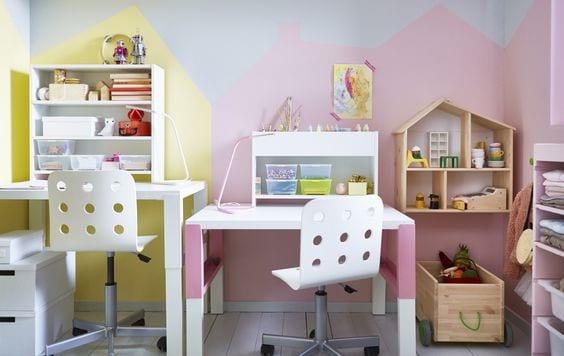 Escritorios infantiles de Ikea