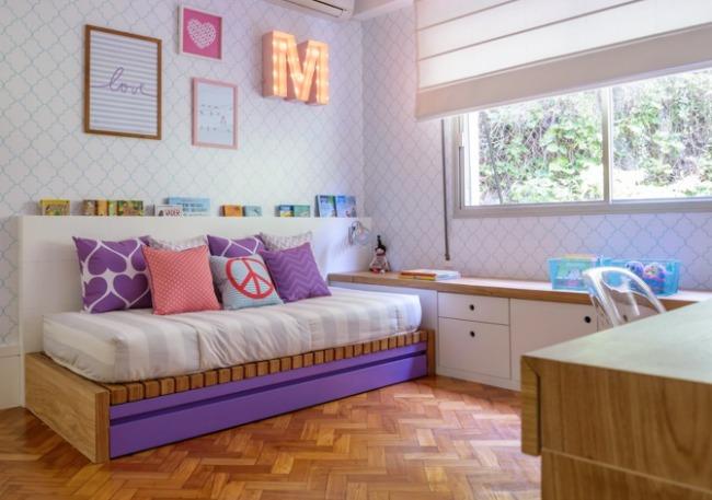 La habitaci n juvenil de manoela decoraci n infantil - Decoracion de habitacion juvenil ...