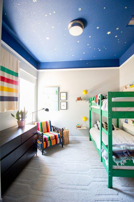 Techos infantiles decorados decoraci n infantil for Techos decorados con durlock