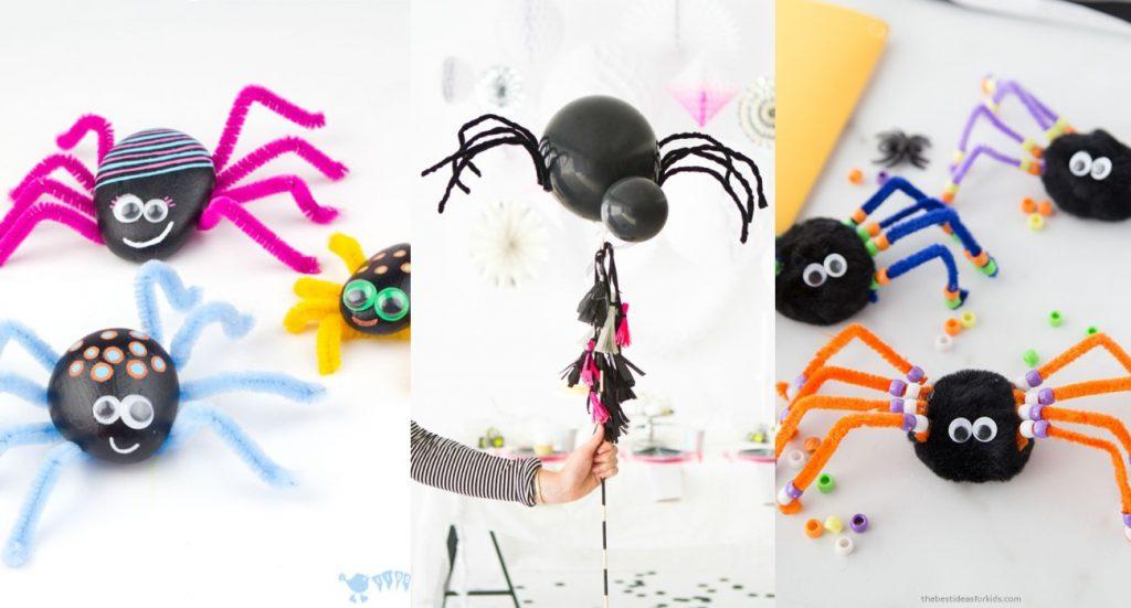 Manualidades de Arañas para Halloween