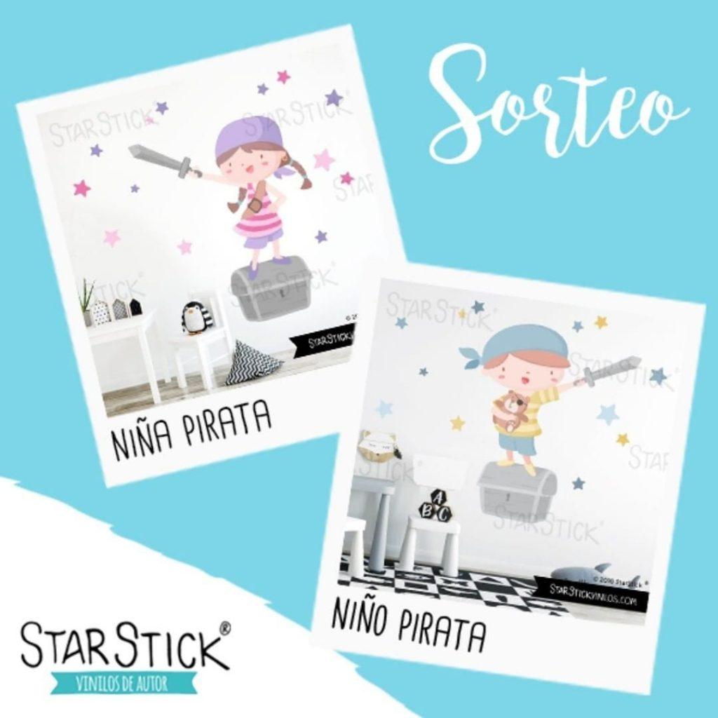 Sorteo vinilo infantil de StarStick