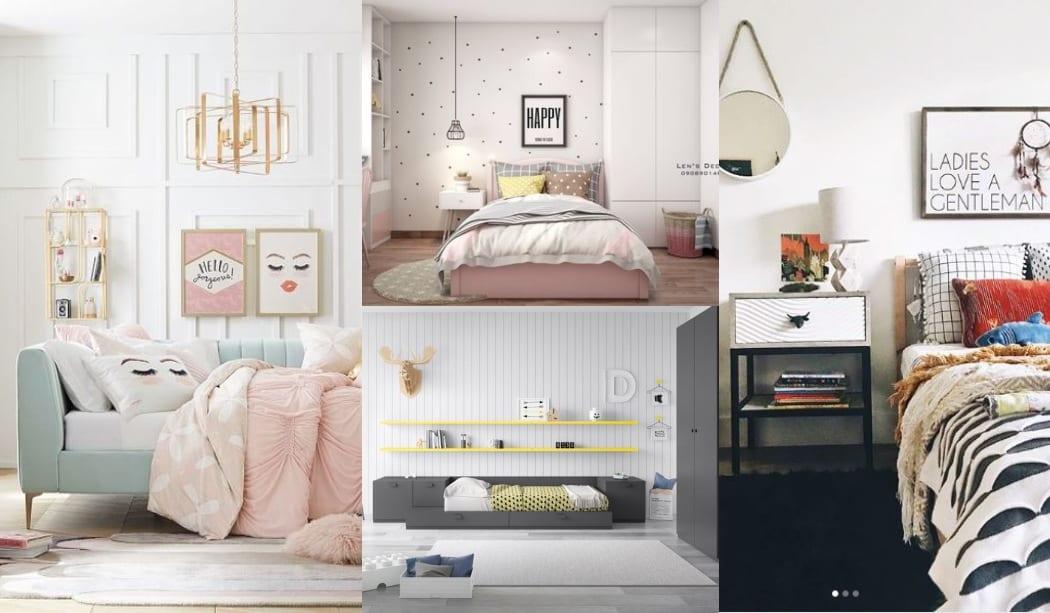Habitaciones juveniles blancas decoraci n infantil y - Decoracion habitaciones juveniles nina ...