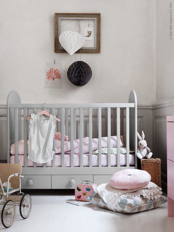 Habitaciones de beb ikea bonitas y econ micas for Habitaciones juveniles economicas