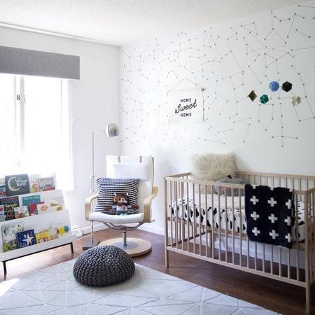 Habitaciones de bebé Ikea cuna Sniglar