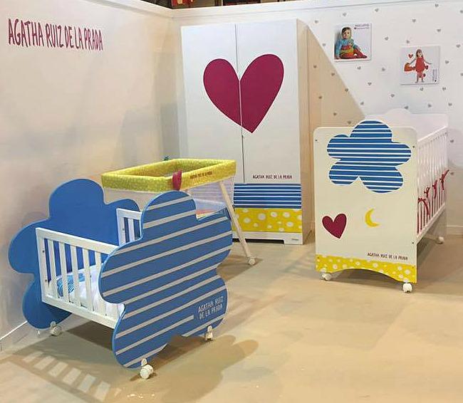 Colecci n de mobiliario agatha ruiz de la prada para beb s for Mobiliario para bebes
