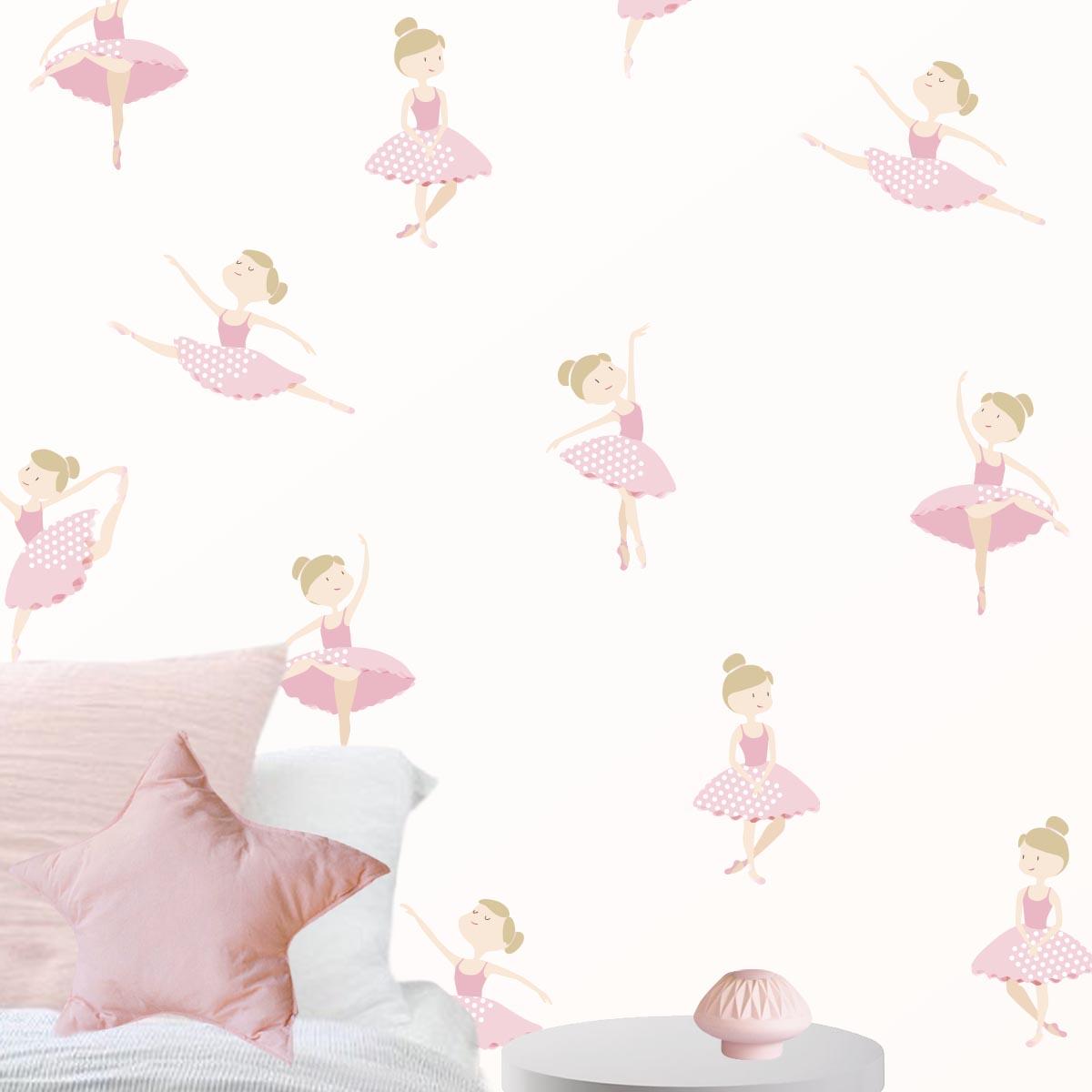 49-vinilo-infantil-bailarinas-rosa