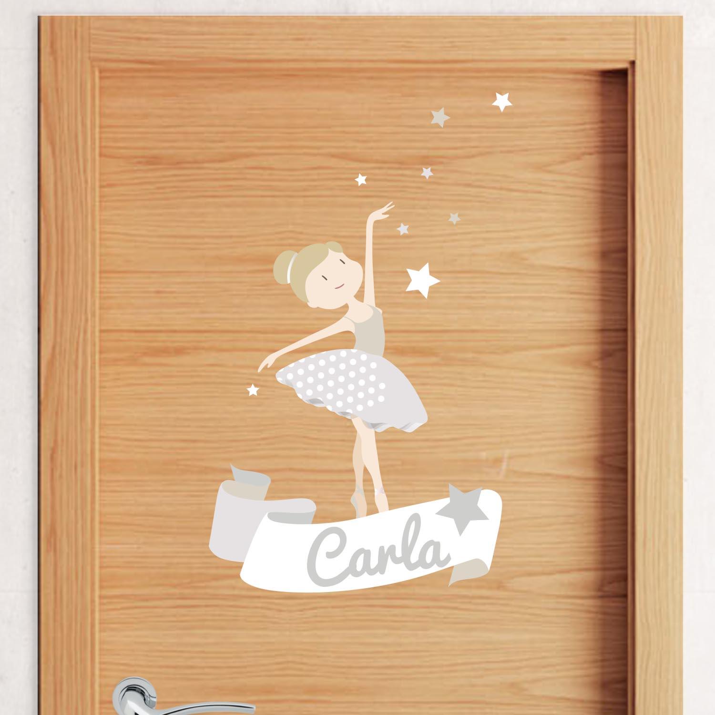 52-vinilo-bailarina-infantil-puerta