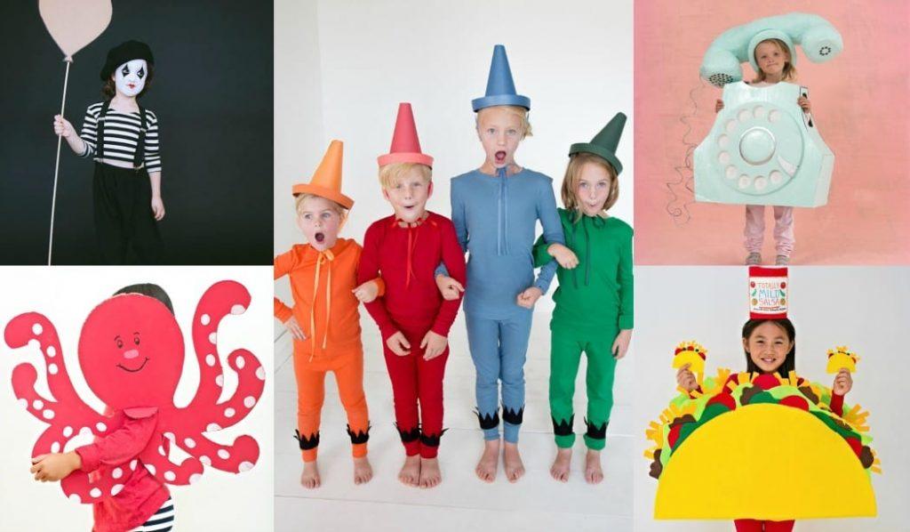 Disfraces de Carnaval para niños que puedes hacer en casa