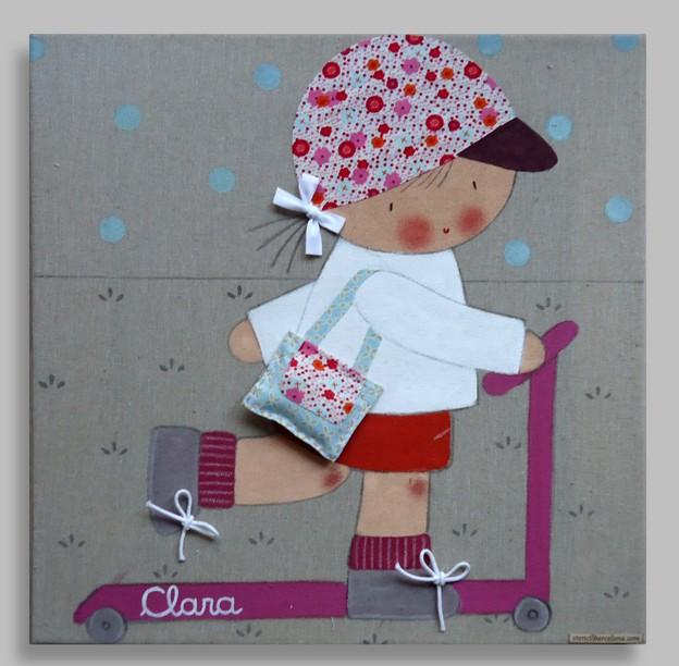 Los mejores cuadros infantiles pintados a mano - Murales infantiles pintados a mano ...