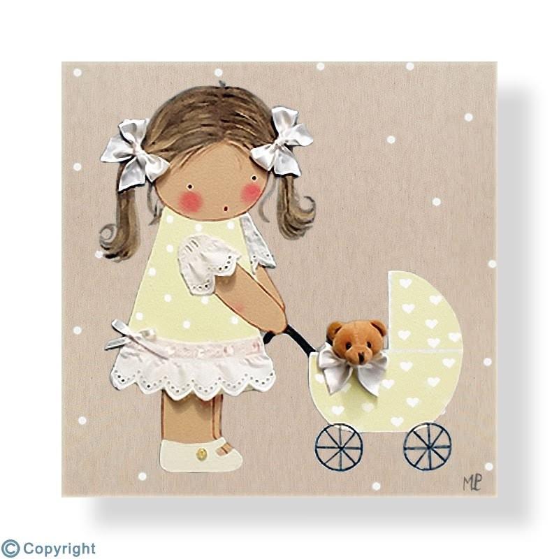 Los mejores cuadros infantiles pintados a mano - Cuadros artesanales infantiles ...