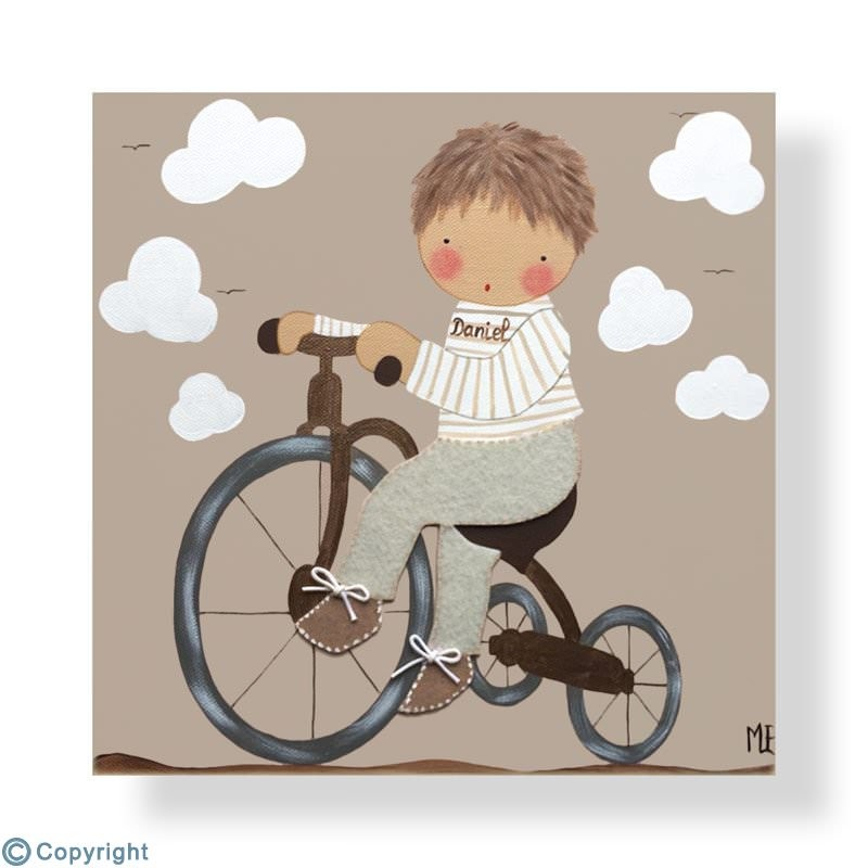Los mejores cuadros infantiles pintados a mano - Cuadros para habitacion de bebe ...