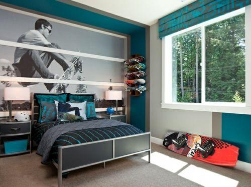 Habitaciones azules