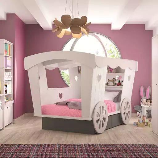 Cama carroza de Princesas