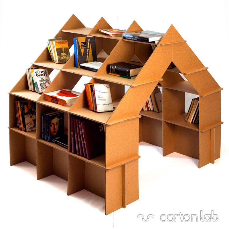 Muebles de cart n para ni os decoraci n infantil for Muebles originales para ninos