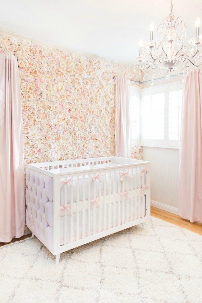 Habitaciones Bebe Nina Fotos E Ideas Habitaciones Bebes Ninas - Habitaciones-de-nia-bebe