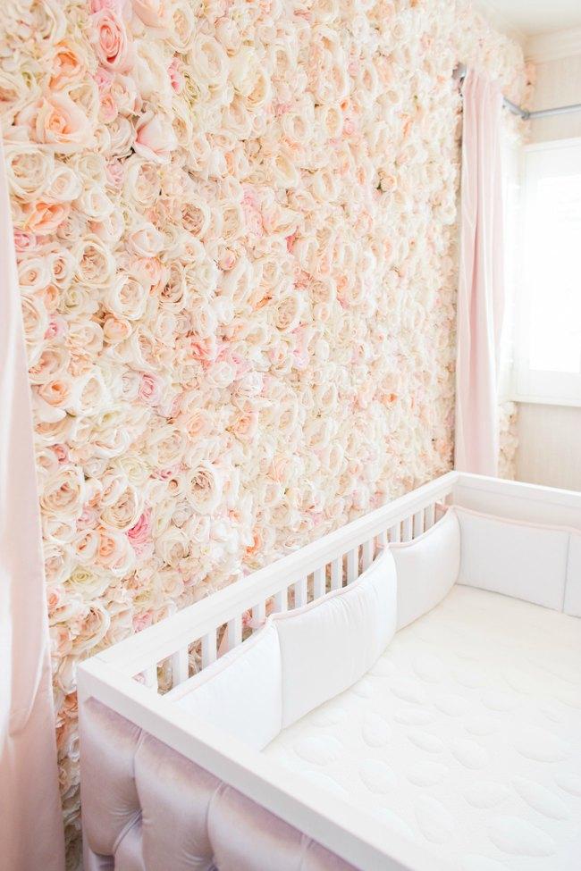 Flores para decorar la habitaci n del beb - Decorar paredes habitacion bebe ...