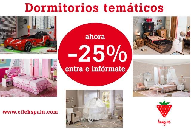 Promoción Dormitorios Temáticos