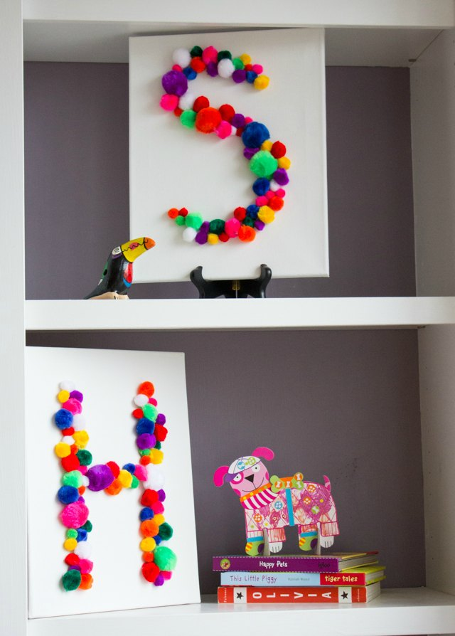 Cuadros de pompones que puedes hacer en casa decoideas net - Cuadros para hacer en casa ...