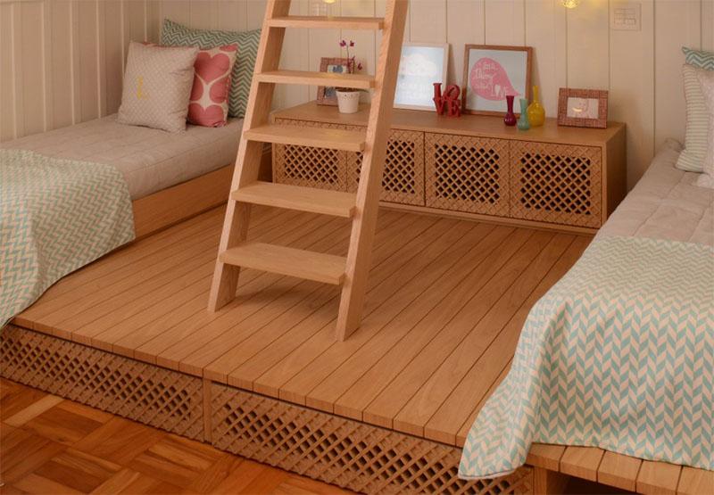 Habitaci n con dos camas para ni as for Cuartos de ninas vonitas