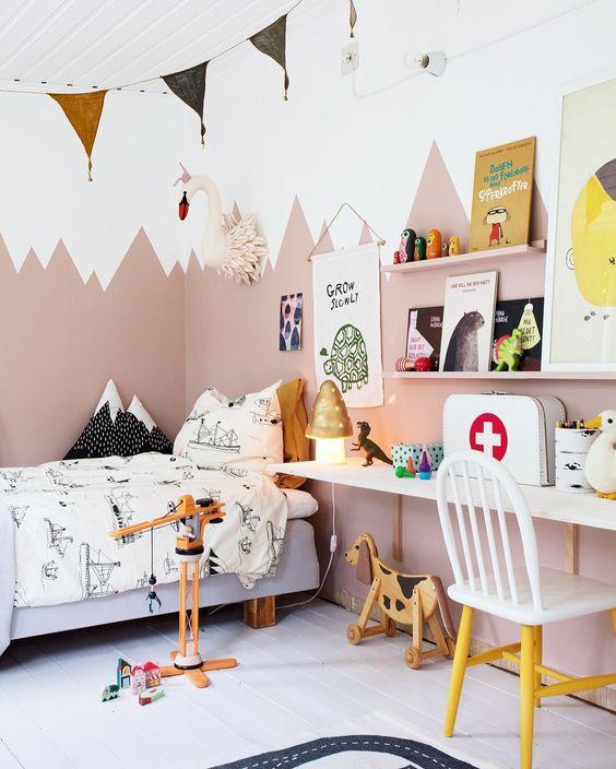 10 Tendencias En Habitaciones Infantiles 2018 - Diseos-habitaciones-infantiles